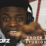 Shock Elias te gast bij 101Barz voor studiosessie