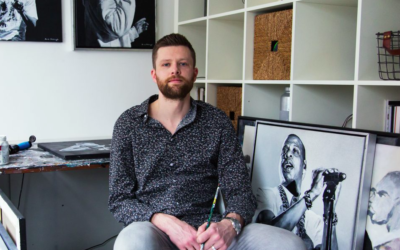 Kunstenaar Arne Hiddingh
