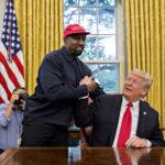 """Kanye West op bezoek bij Trump: """"Ik hou van deze man"""""""