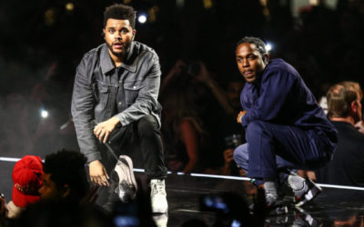 "Kendrick Lamar Joins The Weeknd During The ""Legends of The Fall Tour"" At The Forum"