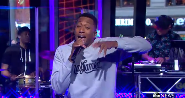 lecrae good morning america