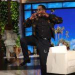 P. Diddy schrikt zich kapot na clown-prank bij Ellen Show